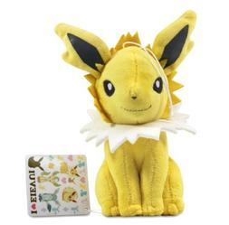 "Pokemon I LOVE Eevee Soft Plush Doll - 48344 ~ 7"" Jolteon"