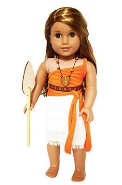 Brittany's My Polynesian Princess Outfit Compatible with Ame
