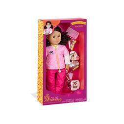 "Our Generation 18"" Poseable Doll -""Paloma"" - Hispanic - Vete"