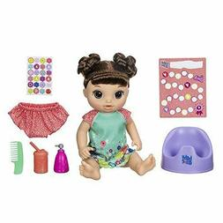 Doll Baby Talking With Brown Hair Unique Modes Flip Of Switc
