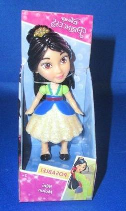 DISNEY PRINCESS COLLECTOR MINI TODDLER DOLL POSABLE FIGURE M