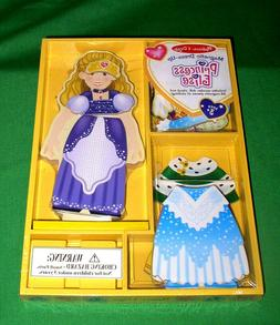 Princess Elise Melissa & Doug Magnetic Dress Up-Doll 24 Pcs
