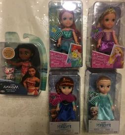 Disney Princess Petite 6 inch Toddler Doll - Ariel with Flou