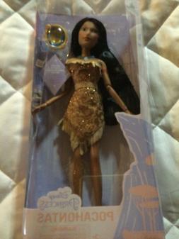 Disney Princess Pocahontas Classic Doll With Pendant 11 1/2