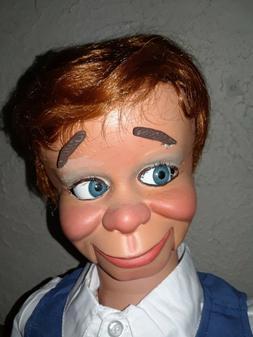"pro style ventriloquist puppet figure dummy doll ""Richie"""