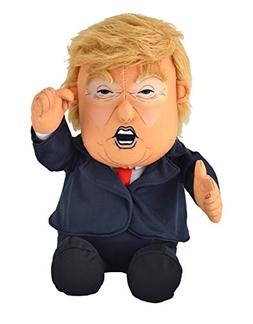 Pull My Finger Farting Donald Trump Plush Figure Doll -With