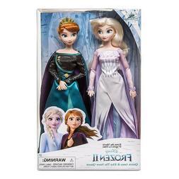 Disney Store Queen Anna and Snow Queen Elsa Classic Doll Set