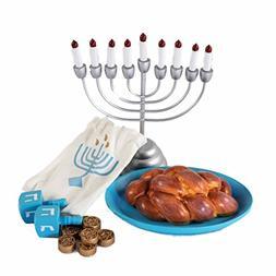 The Queen's Treasures Hanukkah Play Set! Menorah with 9 Re