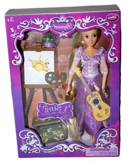 Rapunzel Deluxe Singing Doll Tangled Disney Store Authentic