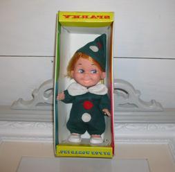 Rare 1970'S FUN WORLD Vintage SPARKY Doll In BOX Hong Kong