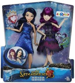 RARE Disney Descendants 2 Mal & Evie Isle of the Lost New To