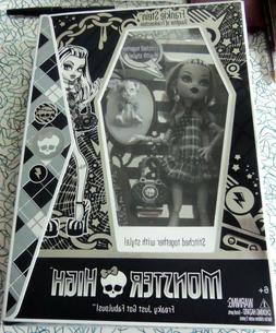 RARE! Monster High SDCC Exclusive Frankie Stein Doll Black