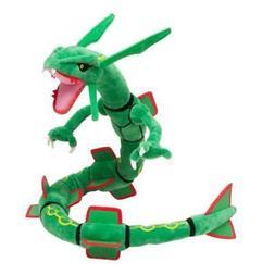 Rayquaza Pokemon Go Plush Toy Dragon Snake Ferocious Stuffed