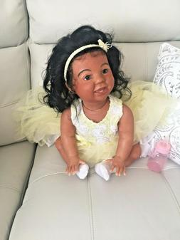 Ready-To-Ship Crawler AMELIA Big Reborn Baby w/Torso - Birac