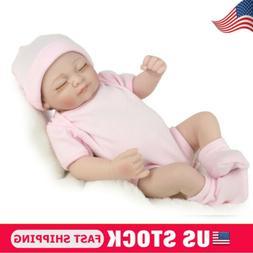 Real Realistic Newborn Girl Full Body Vinyl Silicone Reborn