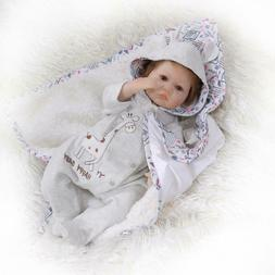 """Real Life Looking Reborn Dolls Baby 16"""" Silicone Soft Vinyl"""