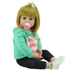 Real Looking Reborn Toddler Doll 18''45cm Realistic Lifelike