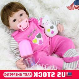 Realistic Handmade Baby Girl Doll Newborn Vinyl Silicone Ali