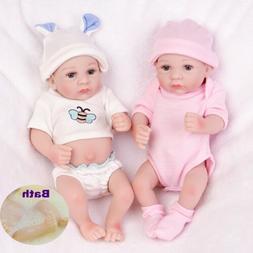Realistic Reborn Baby Dolls Boy Full Body Vinyl Silicone Gir