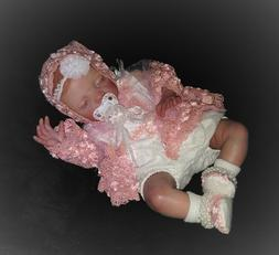 Reborn  baby Chloe. super soft finished. baby girl. premium