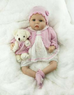 Reborn Baby Doll 22 Inch Handmade Realistic with Soft Body f
