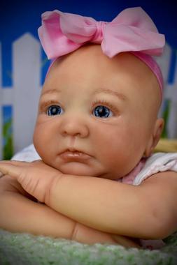 Reborn Baby Doll Aubrey budget baby,  cheap