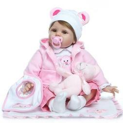 "Reborn Baby Doll baby dolls Vinyl Silicone 22"" Handmade Life"