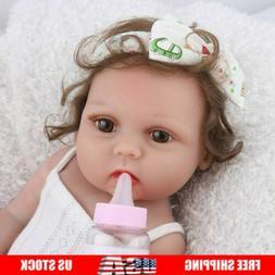 reborn baby dolls full body silicone vinyl