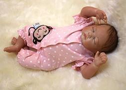 """22"""" Reborn Baby Dolls Cute Realistic Silicone Vinyl Doll New"""