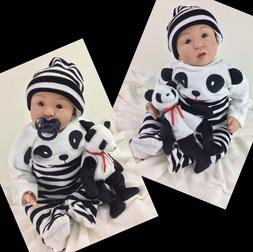 "Reborn Doll Milo Long Sold Out Big Baby Boy 22"" Painted Ha"