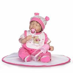 NPK Reborn Baby Doll Soft Silicone 18inch 45cm Magnetic Love
