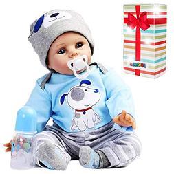 JOYMOR 22 Inch Reborn Baby Doll Vivid Real Looking Dolls Bir