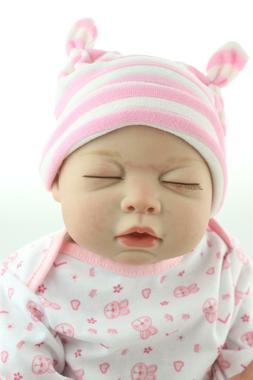 """Reborn Dolls 20"""" Newborn Doll Baby Lifelike Full Body Silico"""