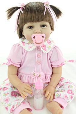 NPK Reborn Baby Doll Girl Soft Silicone Babies Newborn Reali