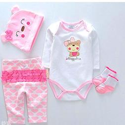 """NPK Reborn Dolls Baby Clothes Pink Outfits for 20""""- 22"""" Rebo"""