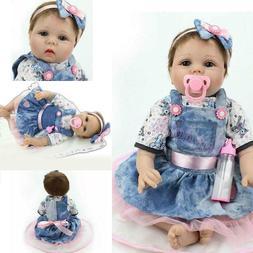 Reborn Dolls Realistic Newborn Baby Doll Lifelike Vinyl Girl