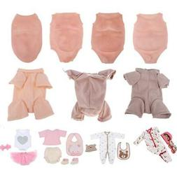 Reborn Supplies Suede Cloth Body/ Belly Plate/ Rompers Cloth