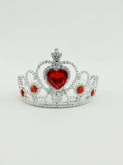 Red Diamond Heart Tiara Crown  for 18'' dolls by American Fa
