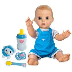 Luvabeau Responsive Baby Boy Doll with Blonde Hair