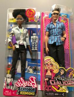 Barbie Career of the Year Robotics Engineer Doll, Dark Brown