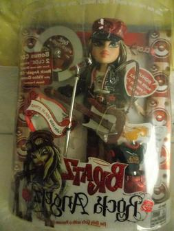 BRATZ ROCK ANGELS - CLOE DOLL, DVD, CD, VIDEO GAME NEW IN BO