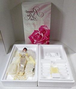 Romantic Rose Bride Barbie Doll 14541 Wedding Mattel Ship Bo