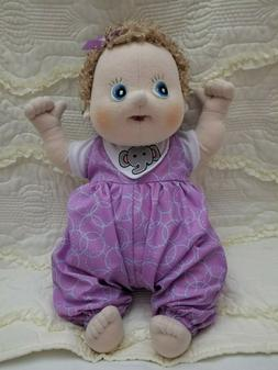 Rubens Barn soft sculpture baby/therapy doll Emma