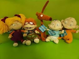 Rugrats Classics by Gund - Bendable Dolls