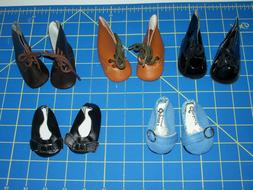 "**SALE on NEW** Doll RETRO Shoes  for 16"" - 18"" dolls as Ame"