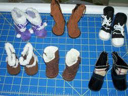 "**SALE on NEW** Doll Boots for 16"" - 18"" dolls as American G"