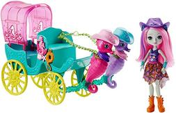 Enchantimals Sandella Seahorse, Friends & Western-Styled Coa