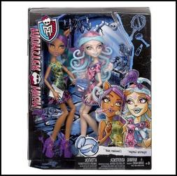 Monster High Scare and Make-Up Two Pack Featuring Viperine G