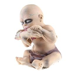 Fenteer Scary Eating Hand Baby Doll Zombie Halloween Haunted