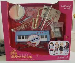 """Our Generation School Band Play Set, fit most 18"""" dolls, NEW"""